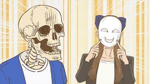 『ガイコツ書店員 本田さん』第4話「A「地獄の接客研修」/ B「ミッション:外出する系の仕事」」-01